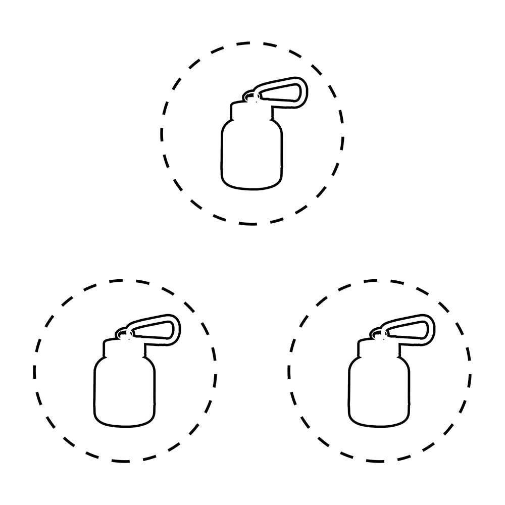 OnMyWhey Protein Keychain Funnel, Create Your Own 3-Pack