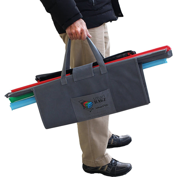 Smartbagz Reusable Grocery Trolley Bags Pack Of 4 With