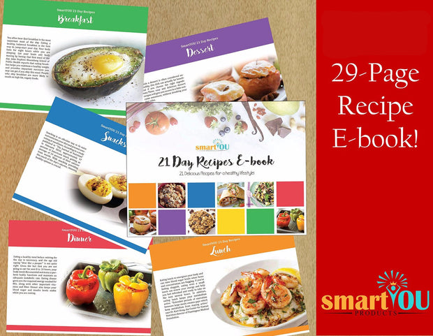 smartYOU 21 Day Recipe E-book