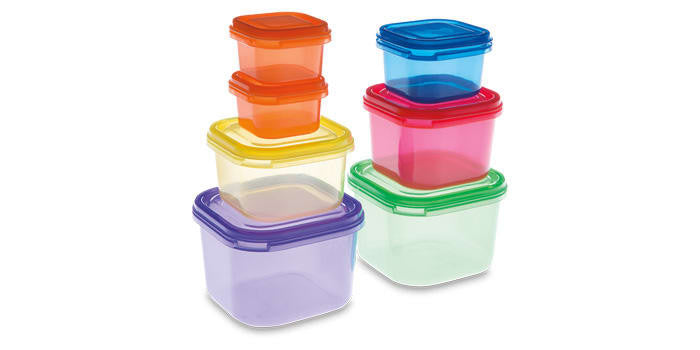 smartYOU 7 Piece Portion Control Containers - Open Box