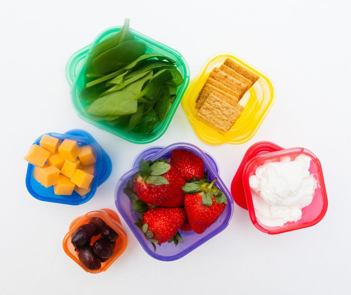 21 Day Portion Control Containers Kit - 7 PC Labeled