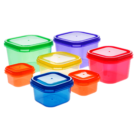 21 Day Portion Control Containers - 7 PC - Open Box