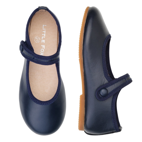 Angel Mary Jane Shoes - Navy