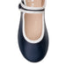 Angel Mary Jane Shoes - Navy/White Trim