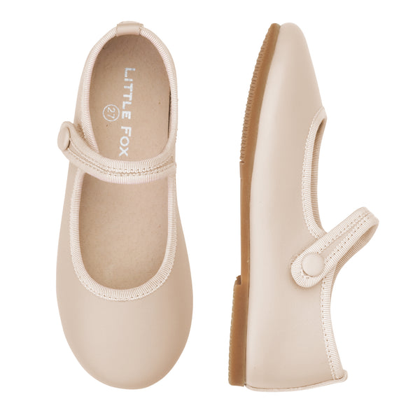 Angel Mary Jane Shoes - Ivory