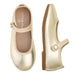 Angel Mary Jane Shoes - Metallic Gold