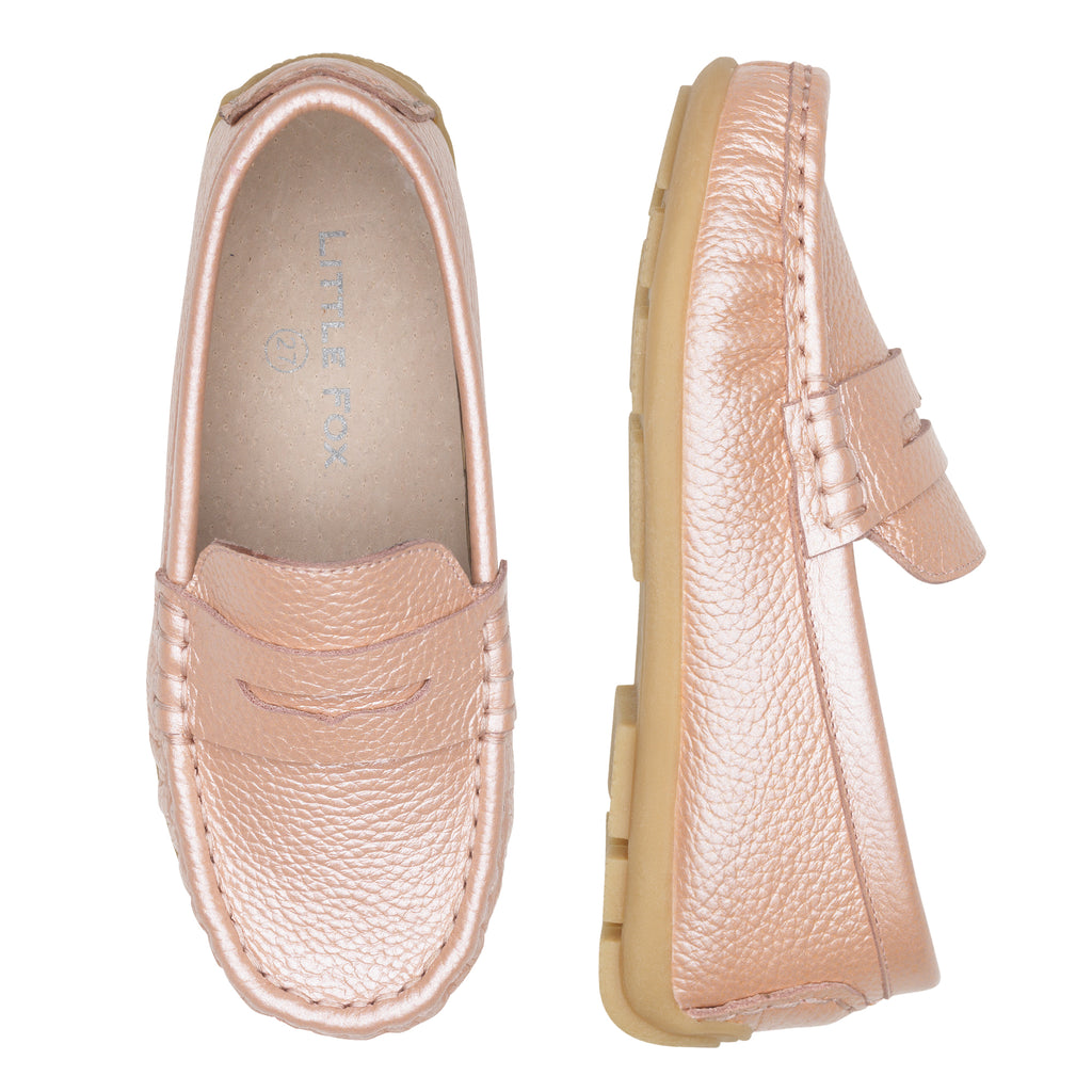 Waterloo Loafer - Rose Gold