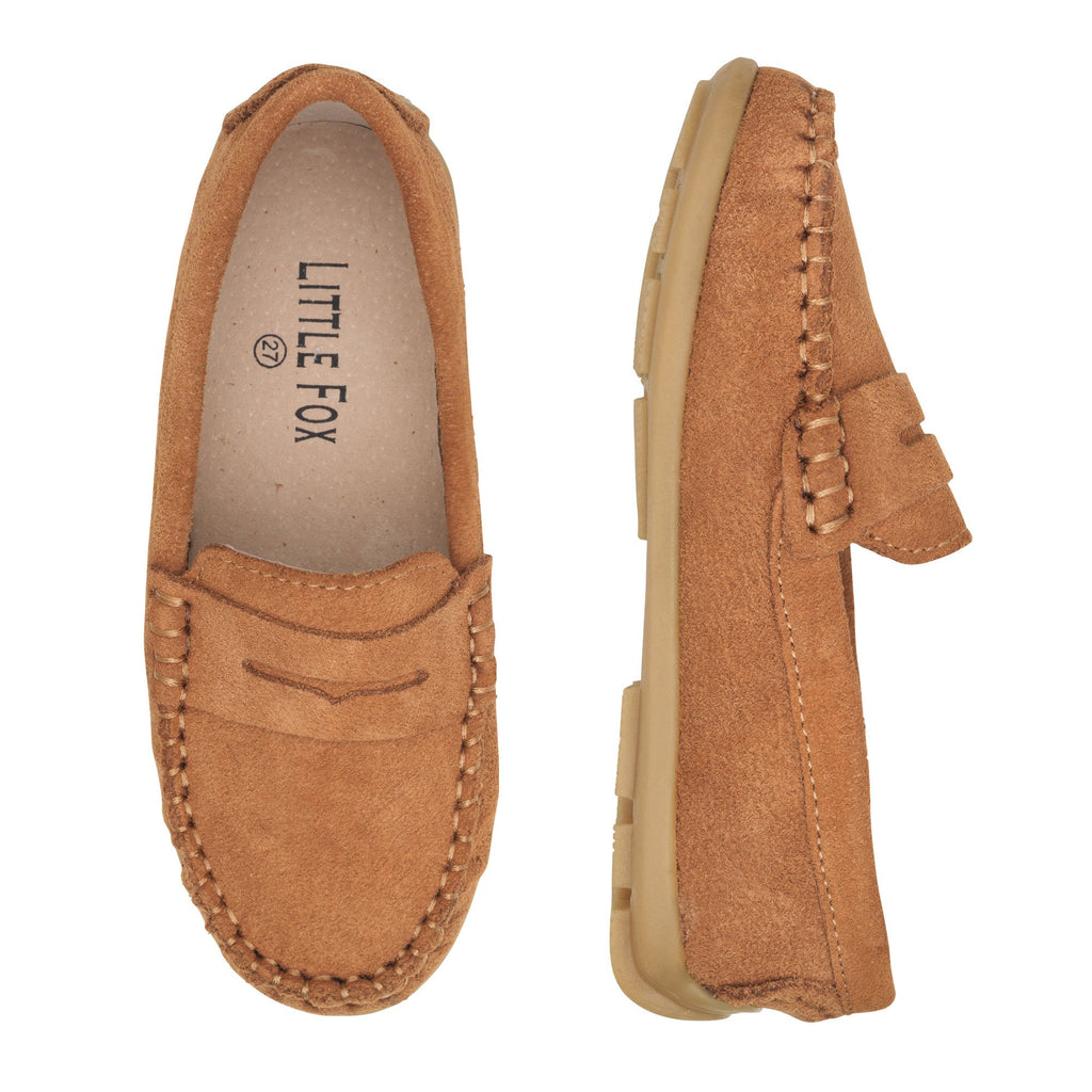 Chelsea Loafer Shoes - Camel