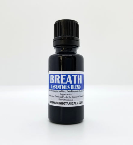 Breath Aromatherapy Essentials Blend - 100% Pure Essential Oils