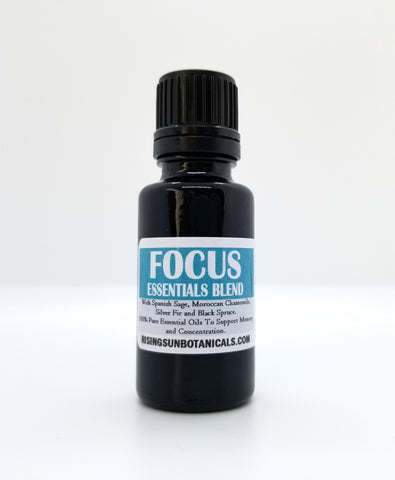 Focus Aromatherapy Essentials Blend - 100% Pure Essential Oils