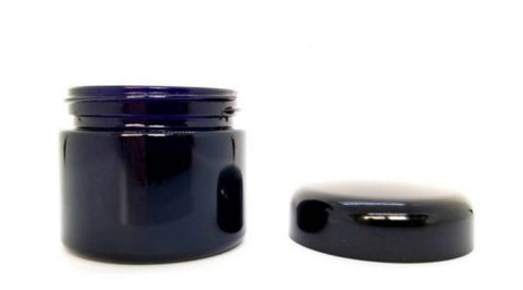1.7oz Miron Violet Glass Jar 50ml Jar