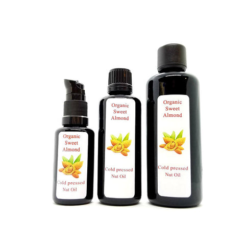 Sweet Almond Oil (Prunus dulcis) Organic Cold Pressed