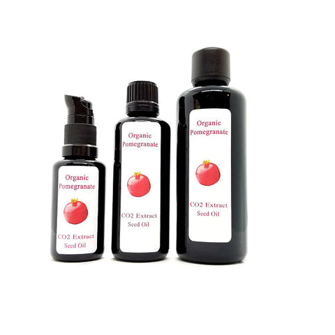 Pomegranate Seed Oil (Punica granatum L.) Organic CO2 Extract