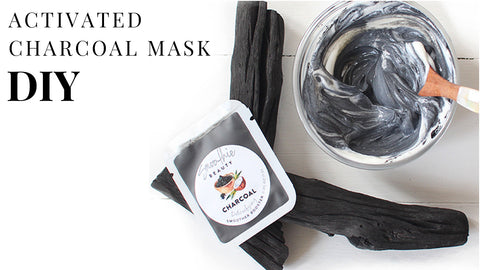 5 benefits of a quick Activated Charcoal Mask DIY