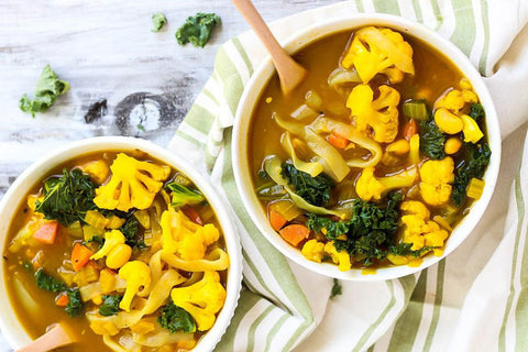 Cleansing Turmeric Soup