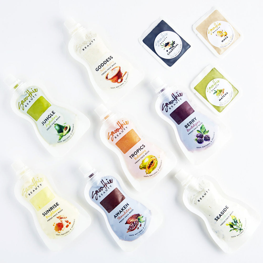 Smoothie Beauty Face Mask Range
