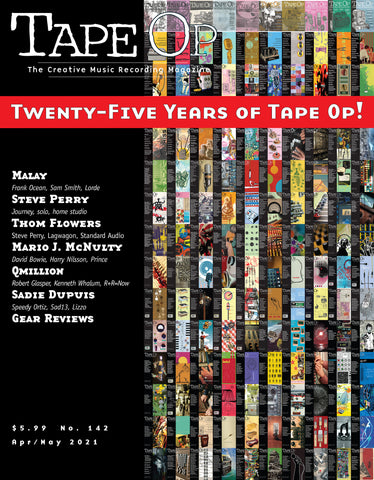 Tape Op Magazine - Issue No. 142 (Apr/May 2021)