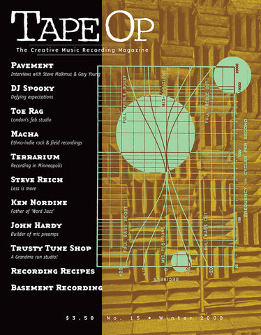 Tape Op Magazine - Issue No. 15 (Jan/Feb 2000)