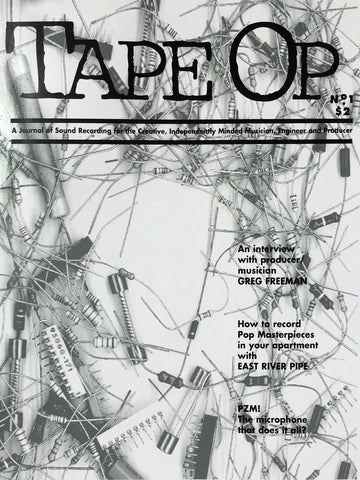 Tape Op Magazine - Issue No. 1 (Spring 1996)