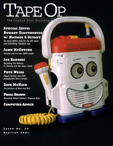 Tape Op Magazine - Issue No. 23 (May/Jun 2001)