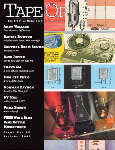 Tape Op Magazine - Issue No. 25 (Sep/Oct 2001)