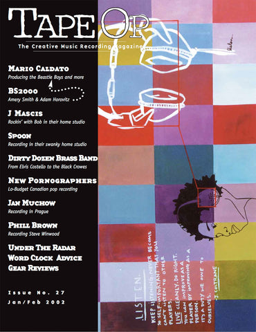 Tape Op Magazine - Issue No. 27 (Jan/Feb 2002)
