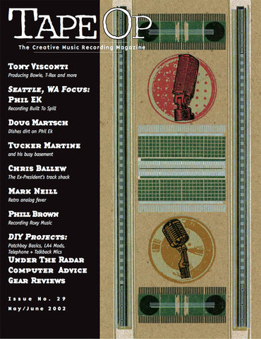 Tape Op Magazine - Issue No. 29 (May/Jun 2002)