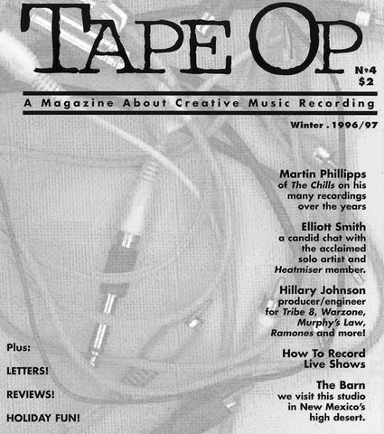Tape Op Magazine - Issue No. 4 (Winter 1996)