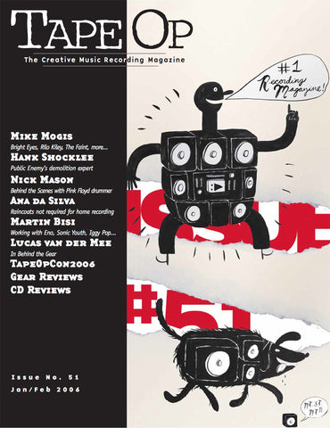 Tape Op Magazine - Issue No. 51 (Jan/Feb 2006)
