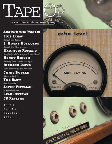 Tape Op Magazine - Issue No. 56 (Nov/Dec 2006)