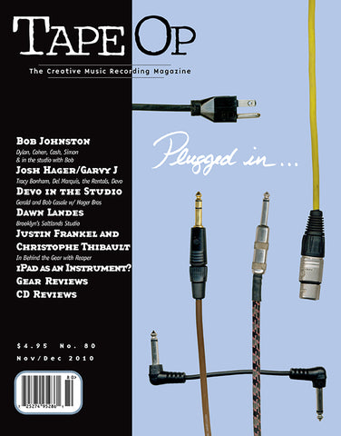 Tape Op Magazine - Issue No. 80 (Nov/Dec 2010)