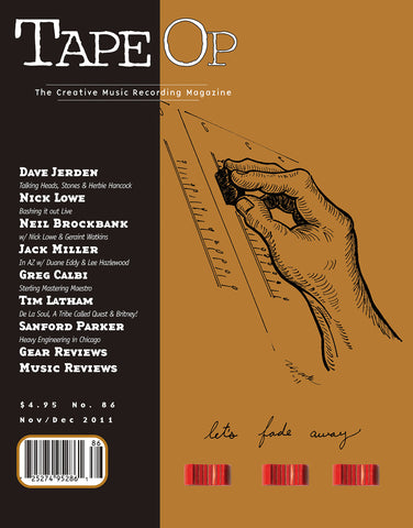 Tape Op Magazine - Issue No. 86 (Nov/Dec 2011)