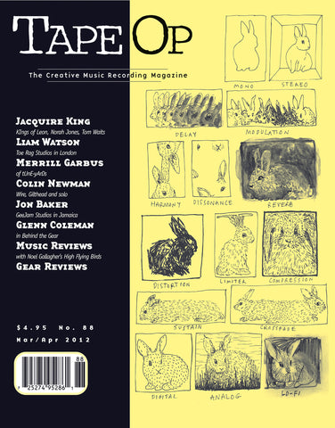 Tape Op Magazine - Issue No. 88 (Mar/Apr 2012)