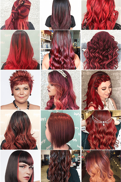 15 Red Hairstyles You Need To Try In 2019 Chatters Hair Salon
