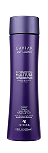 Moisture conditioner for growing out grey hair
