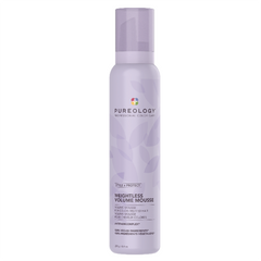 summer style volume mousse