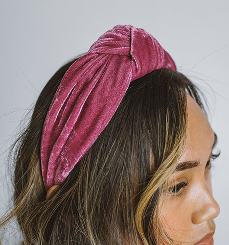 Canadian accessories knotted headband