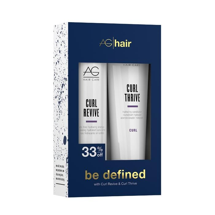AG HAIR Be Defined Curl Holiday Duo