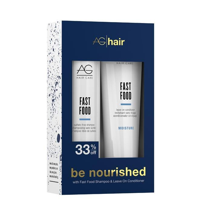 AG HAIR Be Nourished Fast Food Holiday Duo