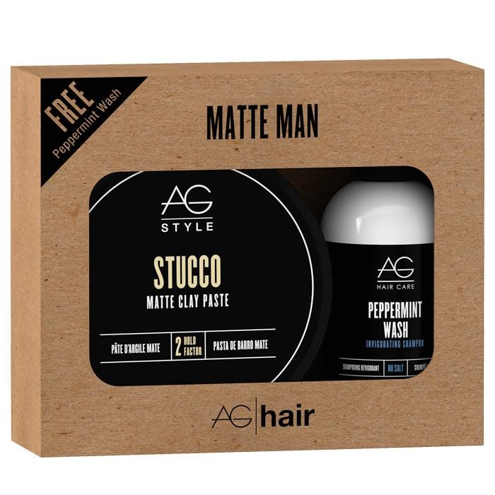 CLEARANCE AG HAIR Matte Man Style Set