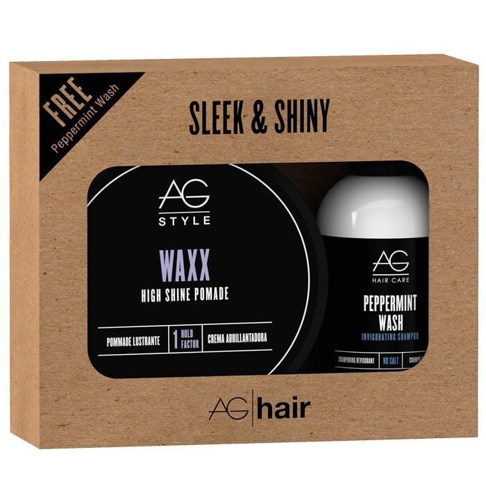 AG HAIR Sleek & Shiny Style Set