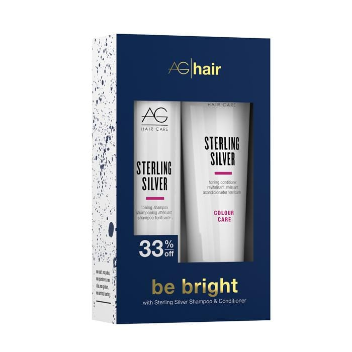 AG HAIR Be Bright Sterling Silver Holiday Duo