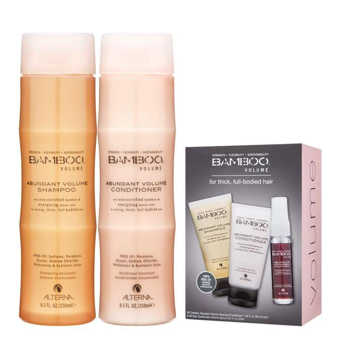 ALTERNA Bamboo Abundant Volume Duo with Free Trial Kit