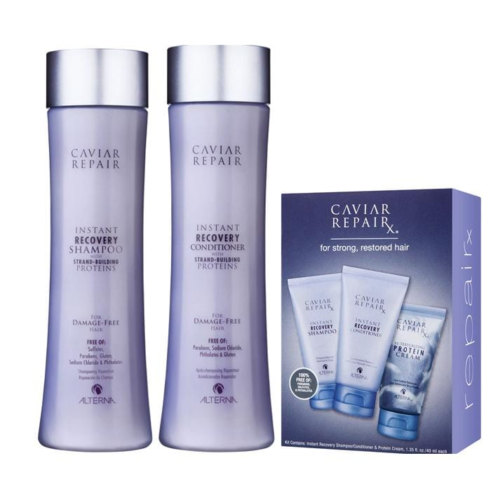 ALTERNA Caviar Anti-Aging Instant Recovery Duo with Free Trial Kit