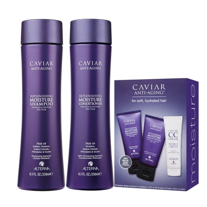 ALTERNA Caviar Anti-Aging Replenishing Moisture Duo with Free Trial Kit