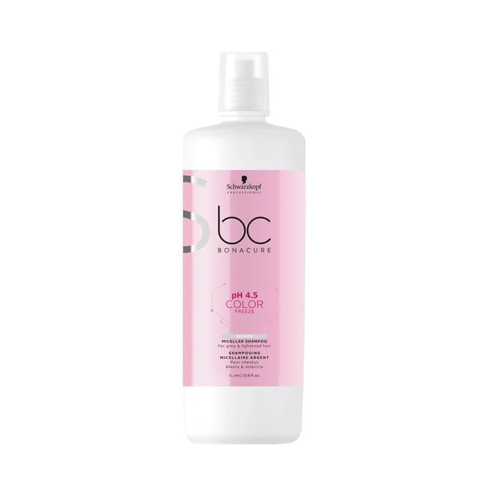 BC Bonacure Color Freeze Silver Micellar Shampoo