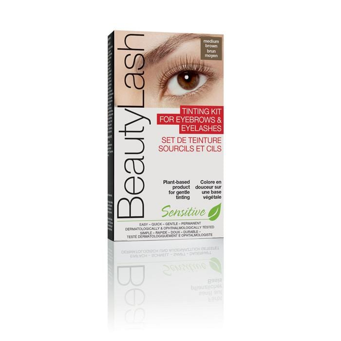 BEAUTYLASH Tinting Kit for Brows & Lashes Medium Brown - Chatters Salon
