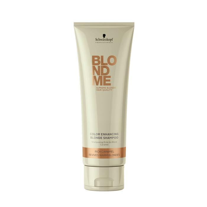 CLEARANCE BLONDME Color Enhancing Blonde Shampoo Rich Caramel