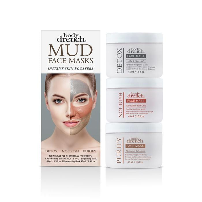 BODY DRENCH Face Mask 3 piece Kit