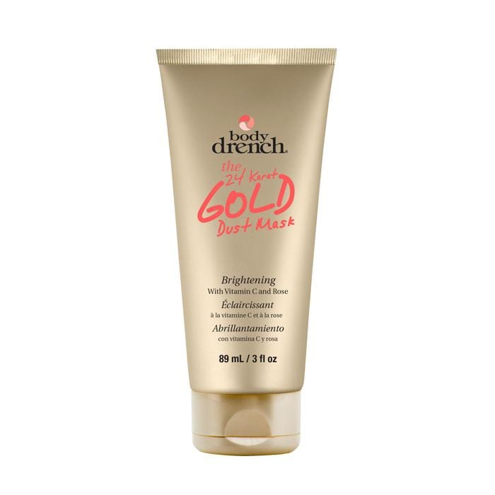 HOT RIGHT NOW! BODY DRENCH Gold Dust Skin Brightening Peel Off Mask